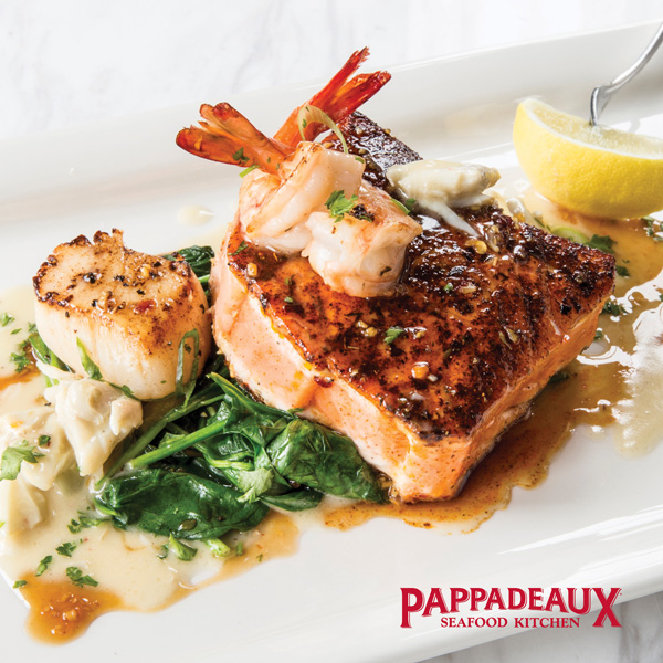 Pappas Seafood Kitchen Menu