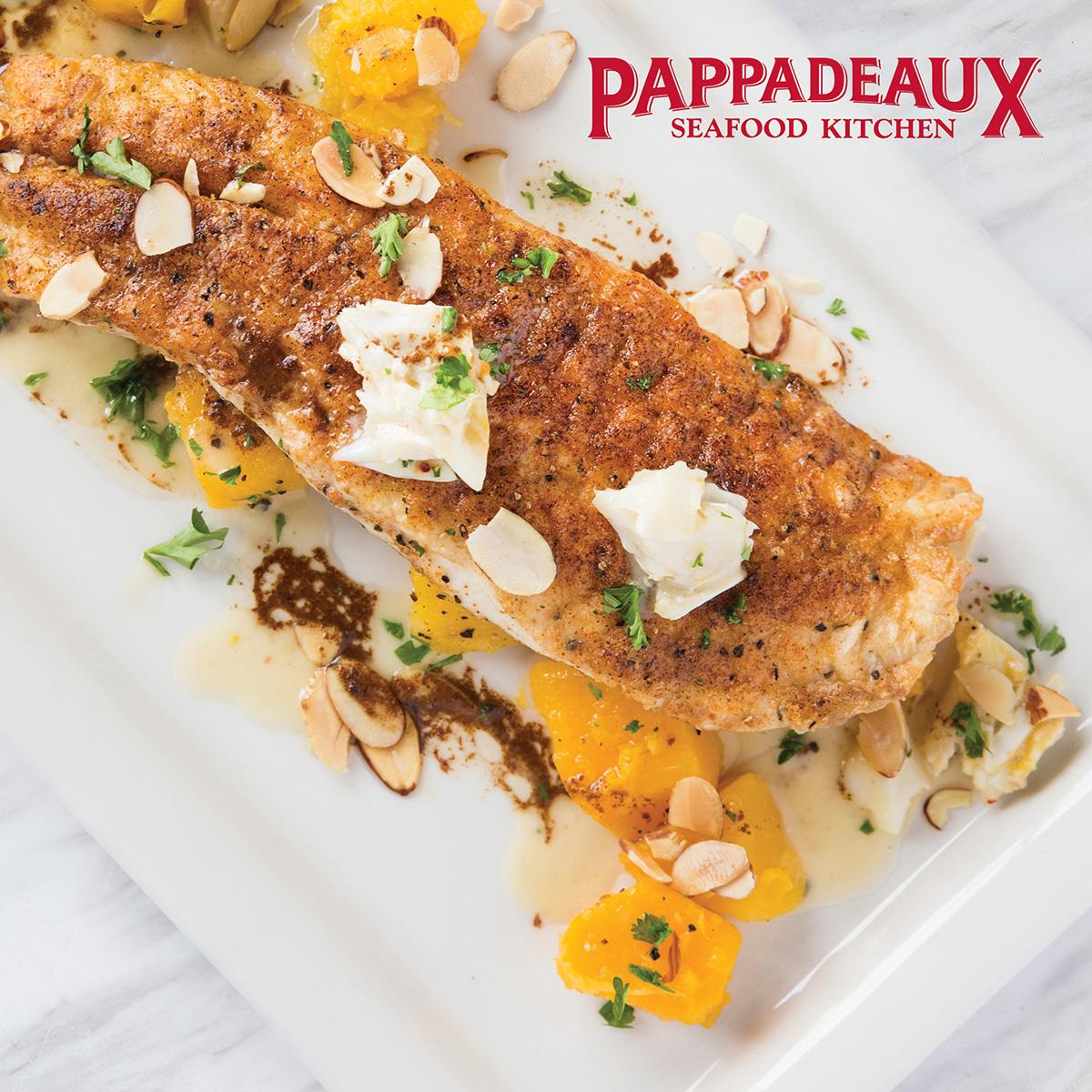 Pappadeaux Seafood Kitchen Menu