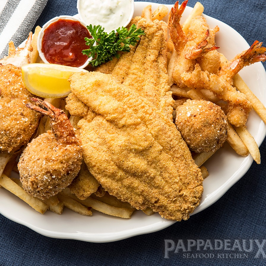 Pappadeaux Seafood Kitchen Menu