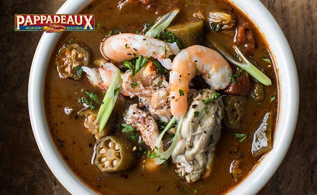 Pappadeaux Seafood Kitchen - menu